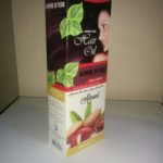 Cosmetic Packaging Carton with Foil Print 300Gsm ITC or JK TUFFCOTE paper Board Carton with 4 color printing & hot seal lamination and silver foiling.