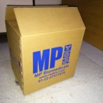 3ply Single Color Printed Corrugated Outer Carton 180gsm 140gsm 180gsm Narrow Flute Imported Virgin Kraft.